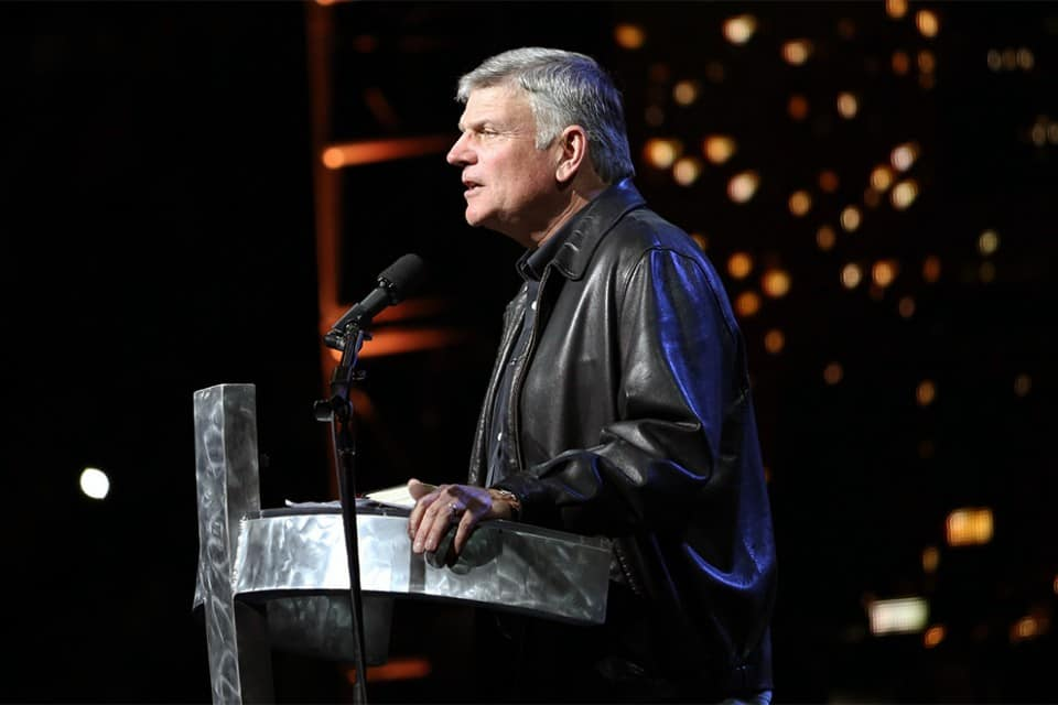 Franklin Graham talked about the current events of the day, leading us to think there's not much hope in this world. He then offered the only lasting hope, found in God's Son, Jesus Christ.