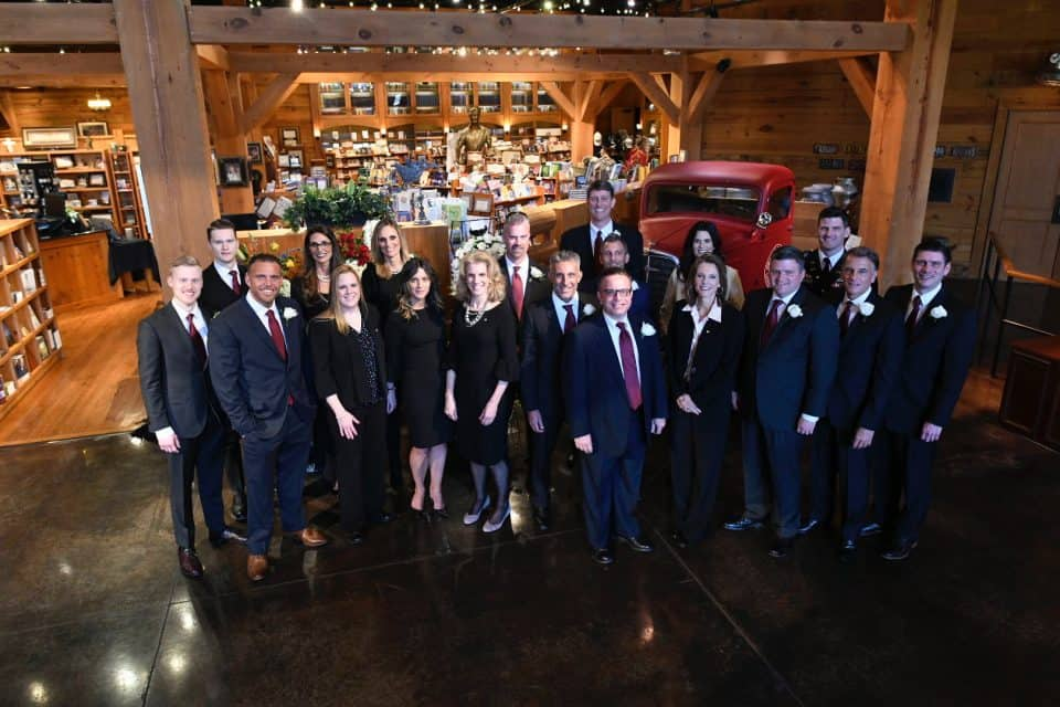 Billy Graham's 19 grandchildren on the day of his funeral.