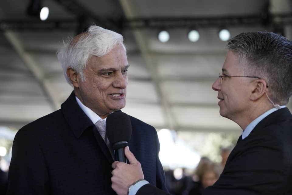 """Christian apologist Ravi Zacharias shares how his ministry started due to Billy Graham requesting him to speak at a BGEA conference. """"It opened up the globe to me. … He changed my life,"""" Ravi said. """"The fact of the matter is he wanted this to be beyond one person because the message is greater than the instrument—the message of Christ."""""""