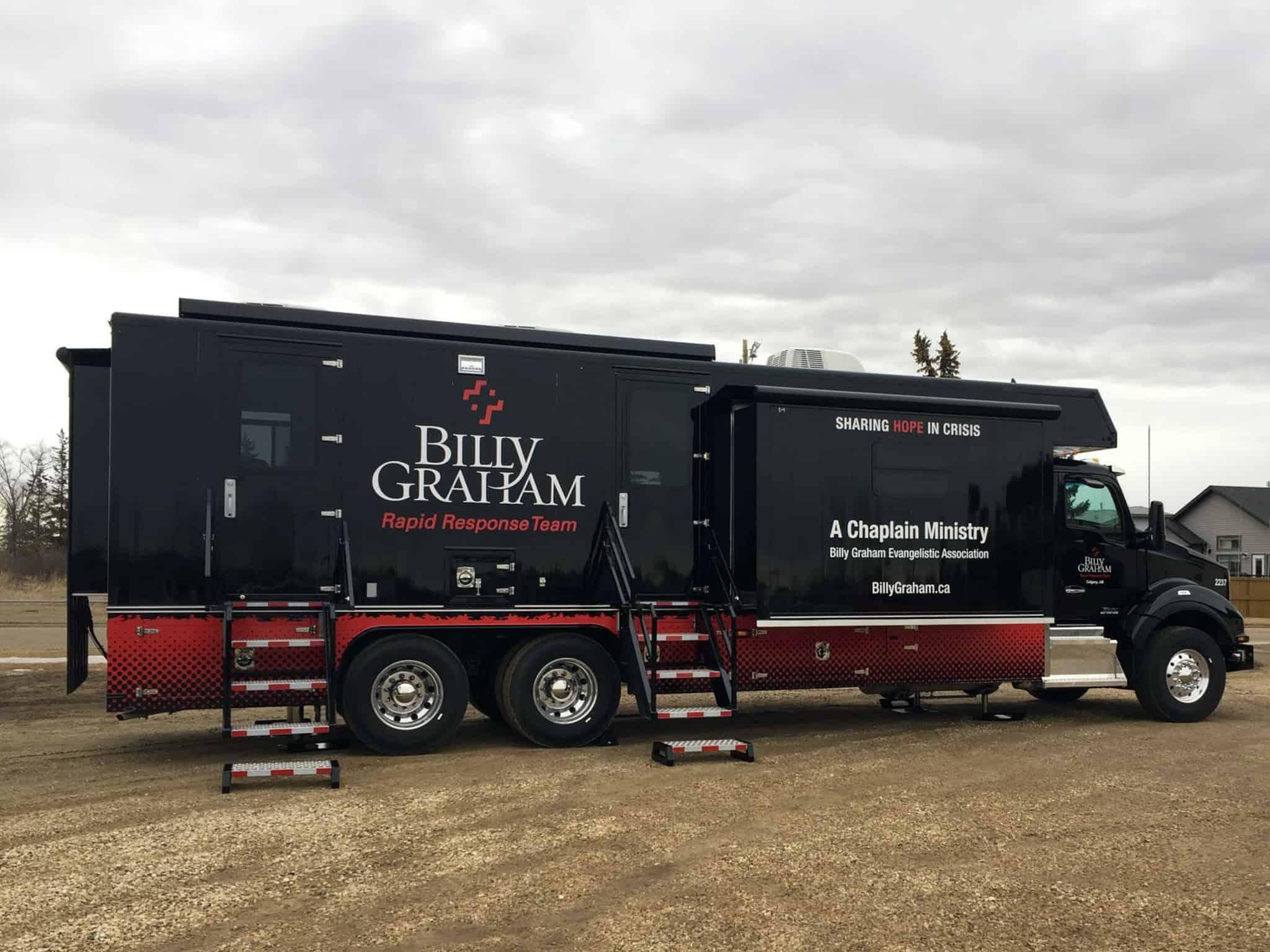 mobile ministry center