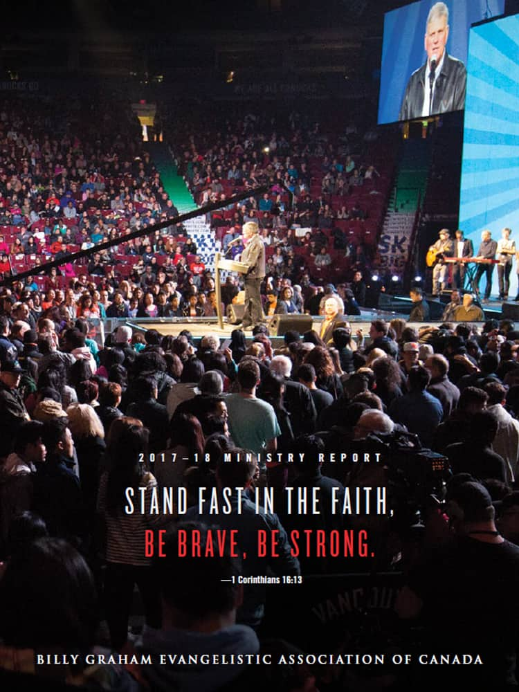 Stand Fast in the Faith, Be Brave, Be Strong