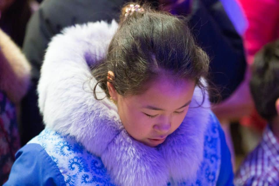 The first night of the Rankin Inlet Celebration of Hope took place at Maani Ulujuk Ilinniarvik school. The event marked the first Celebration in Canada's arctic.