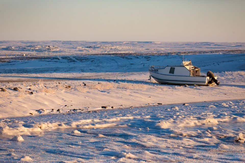 "Rankin Inlet, Nunavut is a small, remote town known as the ""gateway to the north."""
