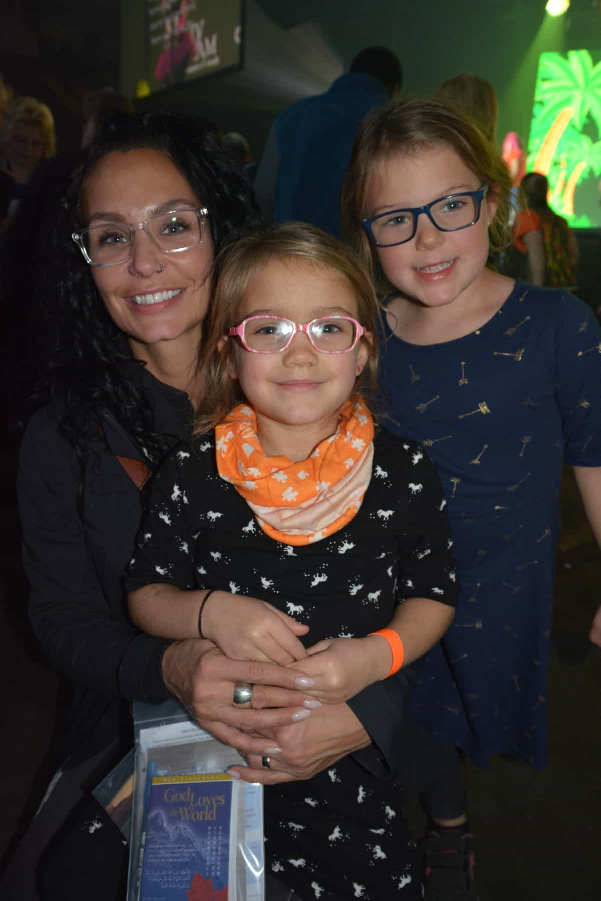 Alicia with her daughter, Josie, who decided to accept Jesus at the KidzFest event at the Avalon Celebration of Hope.