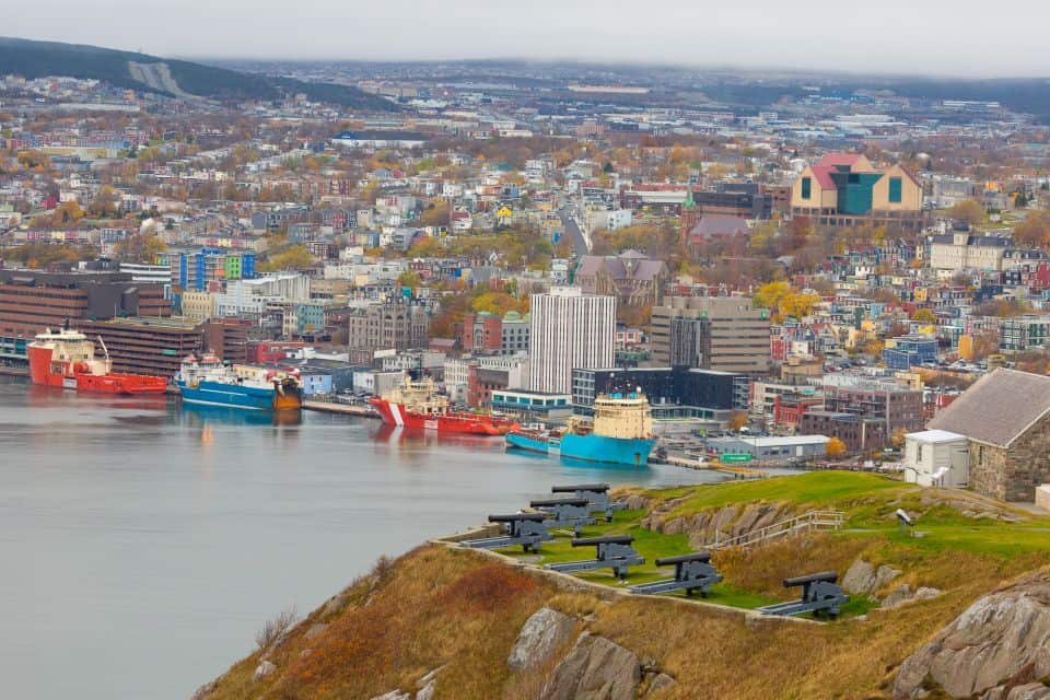 The Avalon Celebration of Hope takes place in St. John's, Newfoundland.