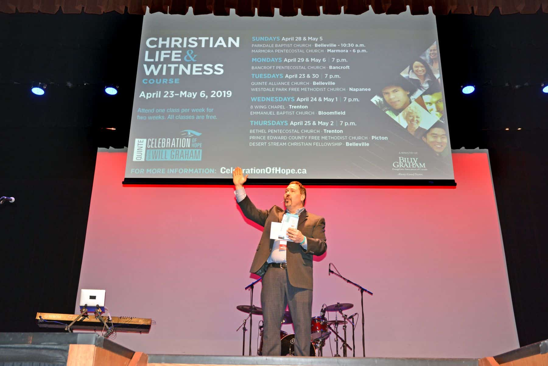 Celebration Team Director Dan Toner shares about the Christian Life & Witness Course.
