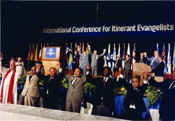 Delegates at Amsterdam '83.