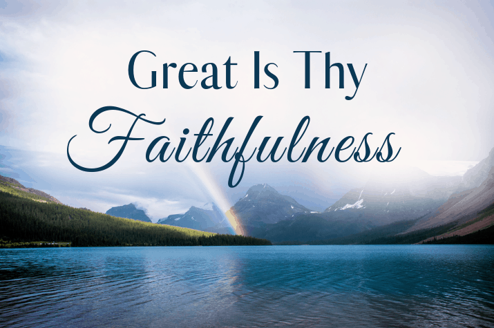 Summer Soul Refresher: Great is thy faithfulness - The Billy
