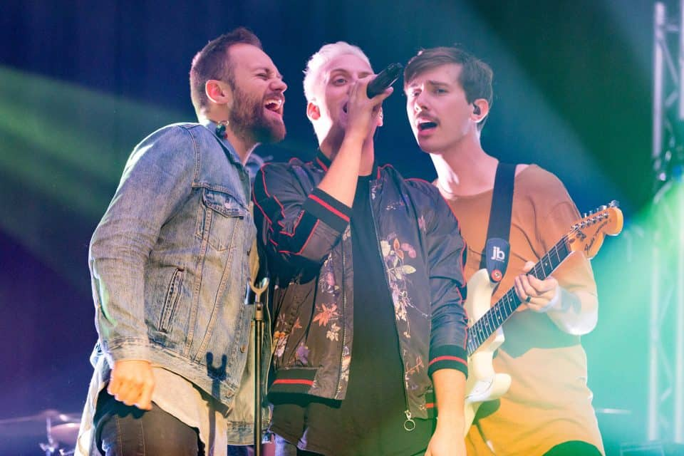 The Color, a Canadian-based Christian group, will be performing during the Saturday and Sunday Celebrations with Will Graham.