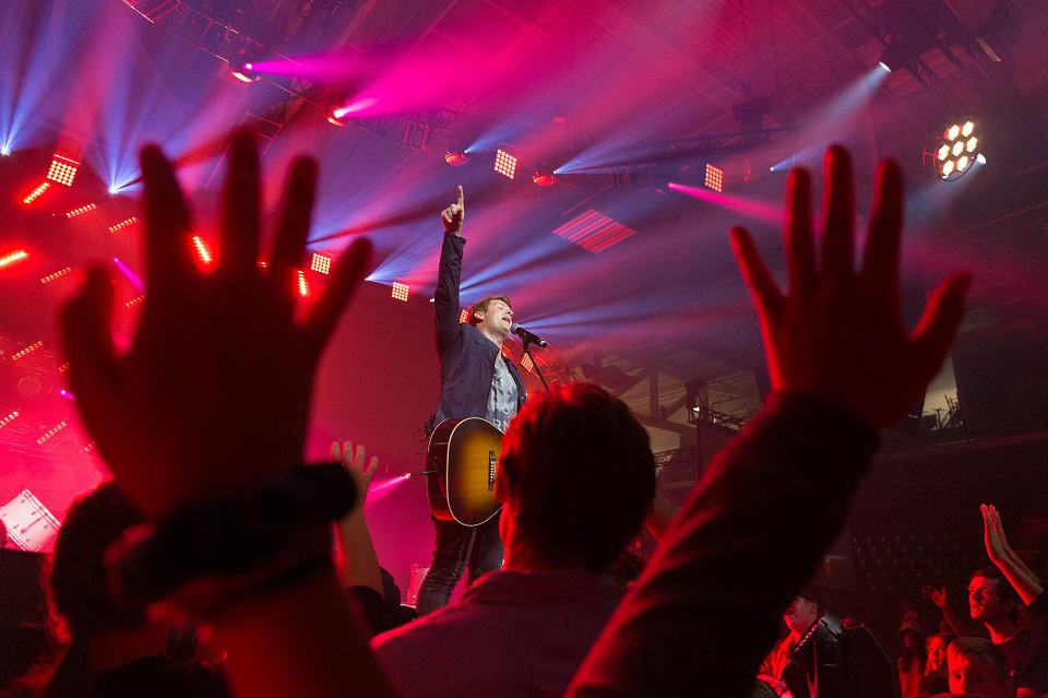 """The Afters' Josh Havens told Belleville that """"God is always faithful and God is bigger than our biggest struggles. He's bigger than addiction, He's bigger than broken relationships, bigger than fear, bigger than anxiety."""""""