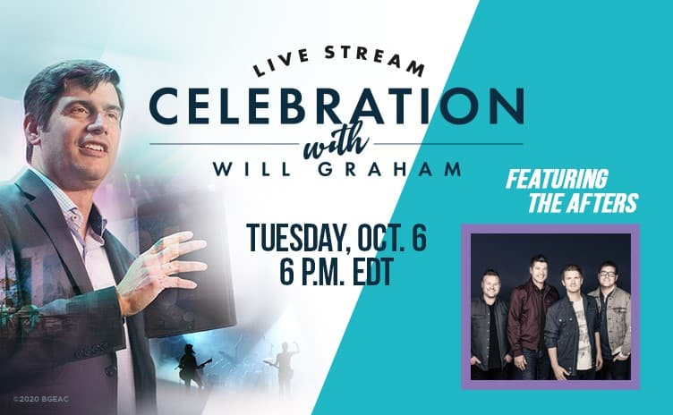 Video thumbnail for Online Celebration with Will Graham - Oct 6th